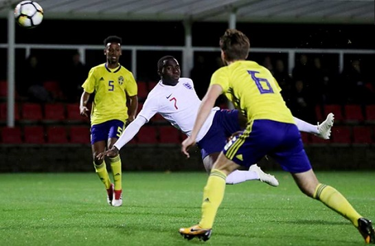 appiah scores for england